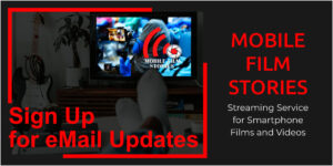 Newsletter Sign Up Mobile Film Stories